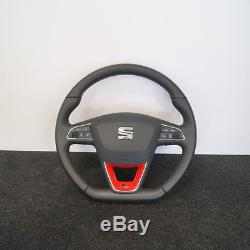 SEAT Leon 5F FR Multifuntion Steering Wheel with Airbag 2013