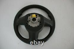 Seat Leon 1P Cupra R Multifunction Steering Wheel Leather Airbag Black/Red