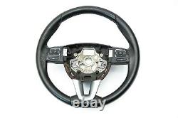 Seat Leon (1P1) 7N5419091C Multi-function Leather Steering Wheel 2005-2012