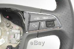 Seat Leon 2012 2016 Flat Bottom Multi Function Steering Wheel 5f0419091r