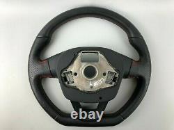 Seat Leon 5F FR Original Leather Multifunction Steering Wheel 575419091