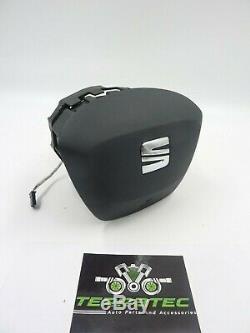 Seat Leon Driver Airbag 5f Mk3 Facelift 3 Spoke Steering Wheel 6f0880201j