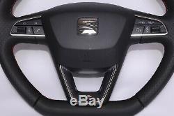 Seat Leon FR multifunction steering wheel 2019
