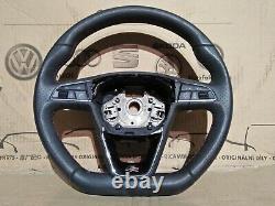 Seat Leon Flat Bottom multifunction steering wheel, MK3 FR Cupra 5F0919719E