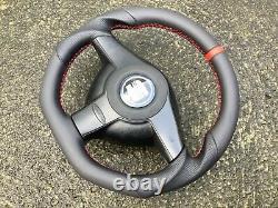 Seat Leon Fr Mk1 New Custom Made Flat Bottom Steering Wheel