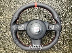 Seat Leon II Altea Toledo III Altea XL New Custom Made Steering Wheel