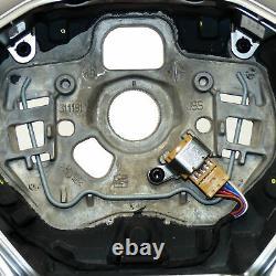 Seat Leon KL1 FR multifunction steering wheel flattened perforated DSG paddles