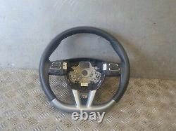 Seat Leon Mk2 Fr Facelift 09-12 Flat Bottom Steering Wheel With Multifunctions