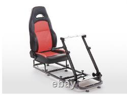 Sim Chair Racing Seat Driving Game Xbox Playstation PC VR Steering Wheel Pedals
