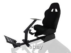 Simulator Cockpit Racing Gaming Chair With Steering Wheel Stand for Logitech G29