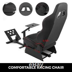 Simulator Cockpit Steering Wheel Stand Racing Seat Gaming Chair For Logitech G29