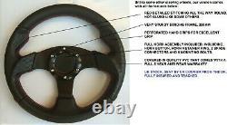 Smaller 11 Inch 280mm Sport Racing Steering Wheel And Boss Kit Hub Fits Vw