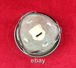 Solid alloy steering wheel hub boss kit and horn button. Classic Fiat 500 600 11C