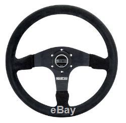 Sparco 015R375PSN Steering Wheel 375 Black Suede
