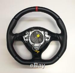 Steering Wheel VW Golf Passat GT GTI R32! Seat Leon! FLAT BOTTOM // TT STYLE