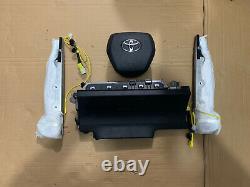Toyota Camry Steering Wheel Knee Seat Airbag Air Bag 2018 2019 2020 2021 OEM