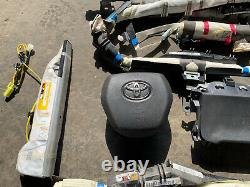 Toyota Camry Steering Wheel Knee Seat Roof Curtain Airbag 2019 2020 2021 OEM