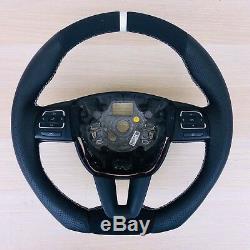 Tuning Alcantara Leather Steering Wheel Seat Alhambra Multifunction