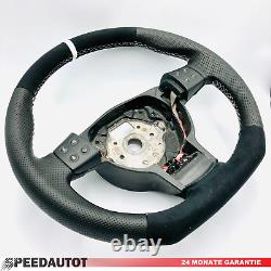 Tuning Alcantara Leather Steering Wheel Seat Ibiza, MK4 Multifunction 6L0419091