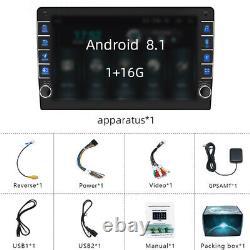 Universal MP5 Player Navigation Wifi FM/Video/Bluetooth/Steering Wheel Control