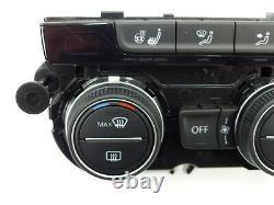 VW Golf 7 Sportsvan Klimabedienteil 5G1907044F Lenkrad + Sitzheizung 7523 km
