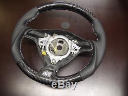 VW OEM steering wheel CARBON Golf 4 MK4 3BG Passat B5 Bora R32 GTI Skoda Seat