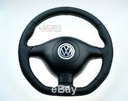 VW custom steering wheel Golf 4 MK4 3BG Passat B5 Bora R32 GTI Skoda Seat R GT