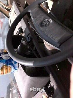 Vanagon dark brown steering wheel dark brown good condition 79-92