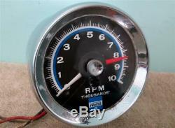 Vintage Chrysler Parts 10,000 RPM Tachometer 3514430 Real Deal Factory Accessory