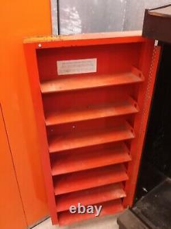 Vintage Ford Motorcraft Cabinet Rack Dealer Parts Counter Display REAL DEAL