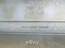 Vintage Pontiac M/T Valve Covers Mickey Thompson 326 350 389 400 428 455 AWESOME