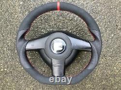 Vw 99-02 Golf Mk3 Convertible Seat Ibiza II New Custom Made Steering Wheel