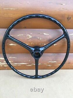 Willys Kaiser Jeep CJ3B CJ5 Factory 72-609 Steering Wheel Original Oem Vintage